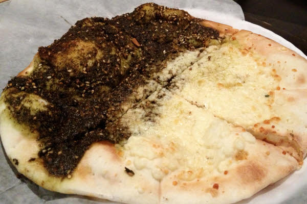 Zaatar & Cheese Man'ousheh thumbnail (click to enlarge)