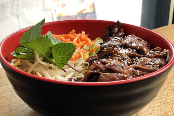 Grilled Beef Vermicelli thumbnail (click to enlarge)