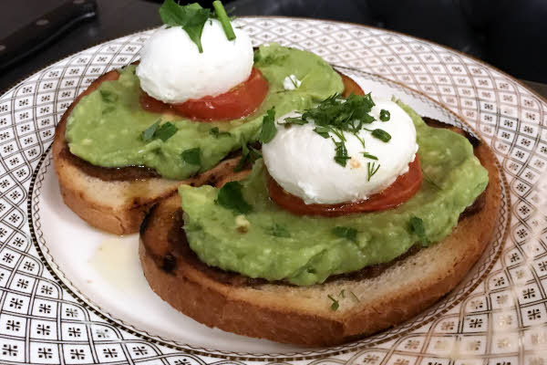 Poached Eggs & Avocado Toast thumbnail (click to enlarge)