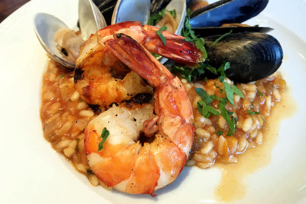 Seafood Risotto thumbnail (click to enlarge)