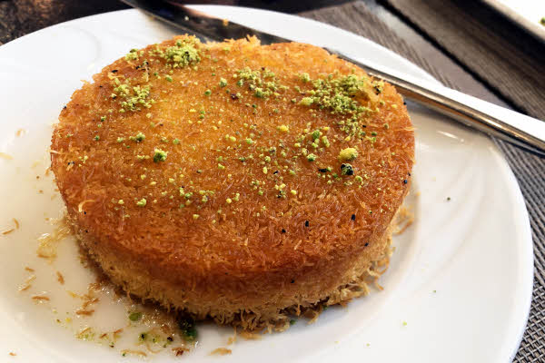Knafeh Bein Narein thumbnail (click to enlarge)