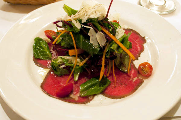 Beef Carpaccio with Oriental Dressing thumbnail (click to enlarge)