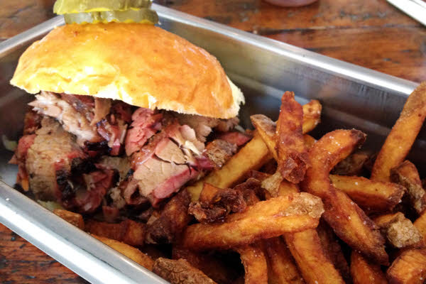 Brisket Sandwich thumbnail (click to enlarge)