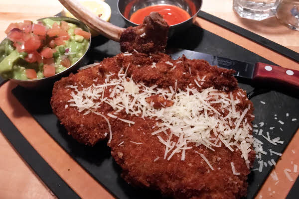 Veal Milanese thumbnail (click to enlarge)