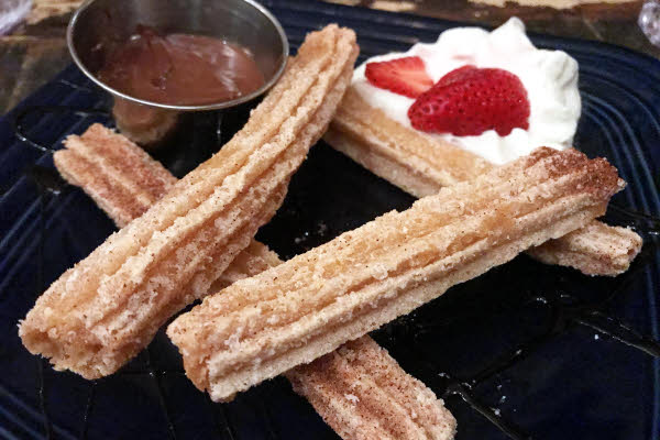 Churros with Nutella thumbnail (click to enlarge)