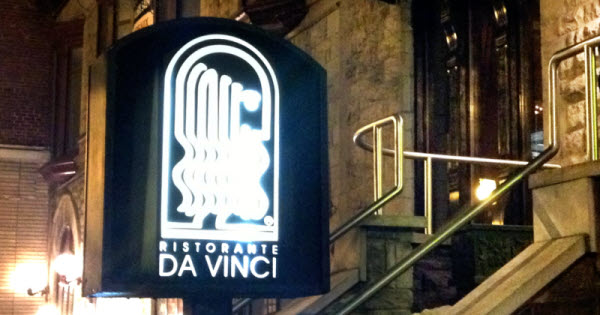 Da Vinci: Italian Opulence in the