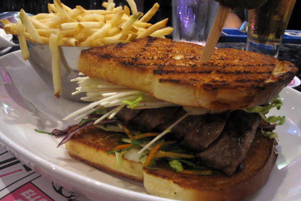 Hibachi Steak Sandwich thumbnail (click to enlarge)