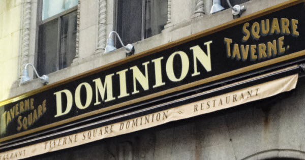 Dominion Square Tavern: Blast from The Past thumbnail