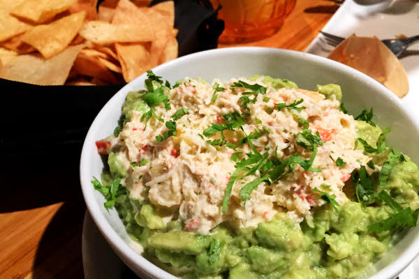 Guacamole with Spicy Crab thumbnail (click to enlarge)