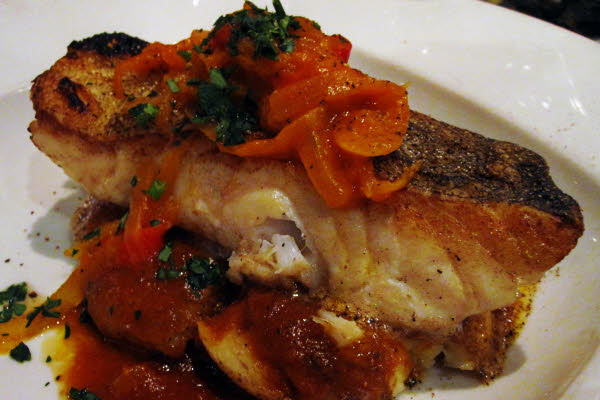 Pan Seared Fresh Cod Steak thumbnail (click to enlarge)