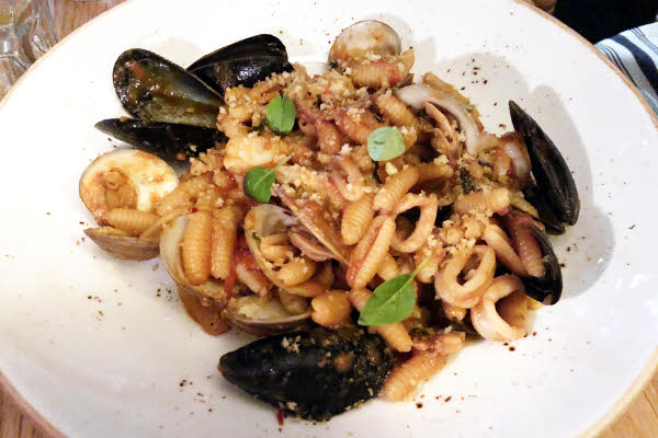Cavatelli Frutti di Mare thumbnail (click to enlarge)