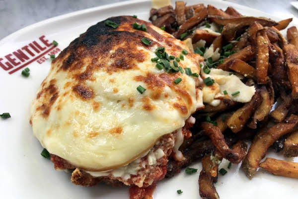 Chicken Parmigiana thumbnail (click to enlarge)