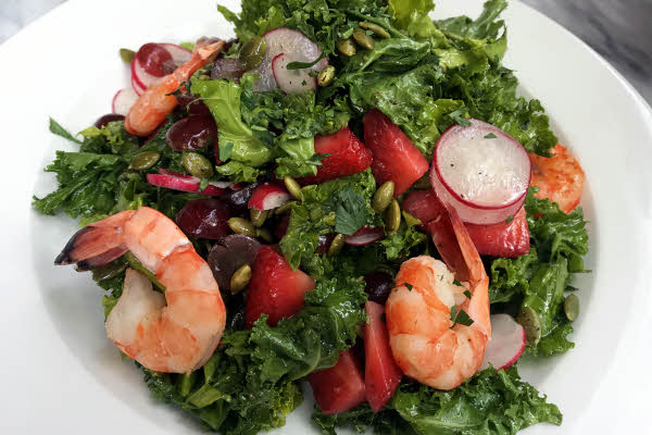 Kale Shrimp Salad thumbnail (click to enlarge)