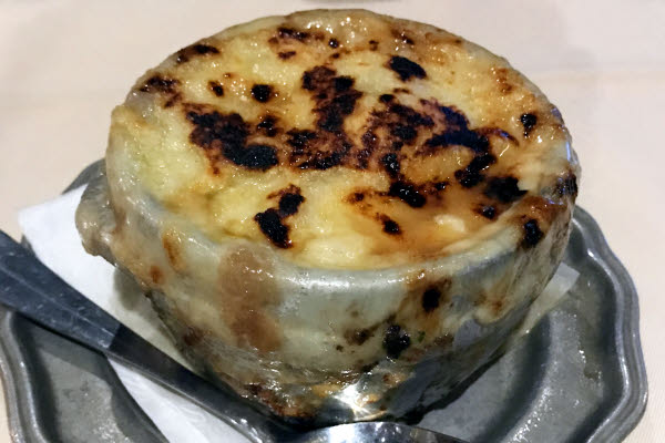 Onion Soup Gratinée thumbnail (click to enlarge)