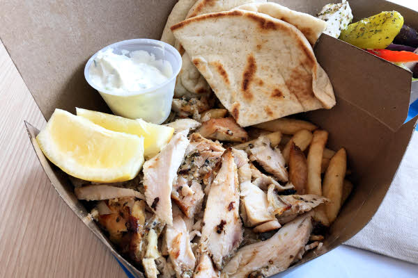Chicken Gyro Plate thumbnail (click to enlarge)