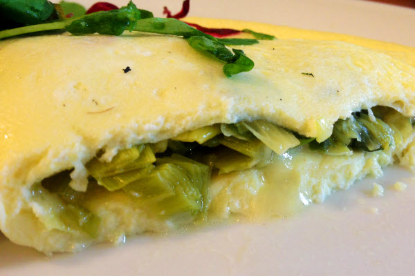 Omelet, Leek, Cheddar thumbnail (click to enlarge)