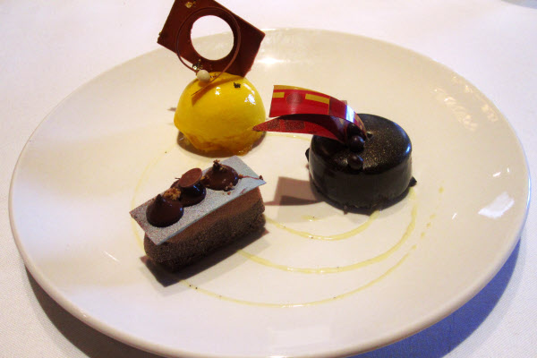 Trio of Mini Pastries from Aix Cuisine thumbnail (click to enlarge)