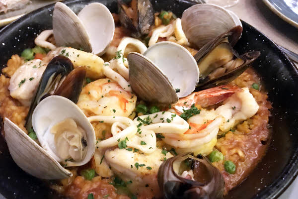 Paella de mariscos thumbnail (click to enlarge)