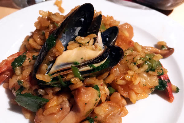 Seafood Paella thumbnail (click to enlarge)