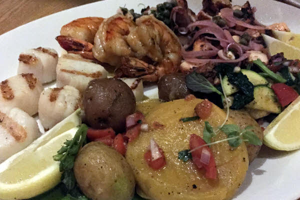 Ikanos: Grilled Seafood Platter thumbnail (click to enlarge)