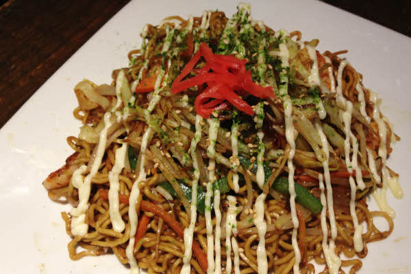 Yakisoba Noodles thumbnail (click to enlarge)
