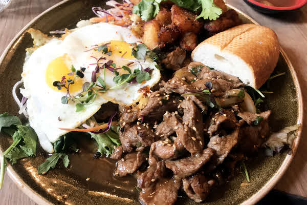 Jiao Steak & Eggs thumbnail (click to enlarge)