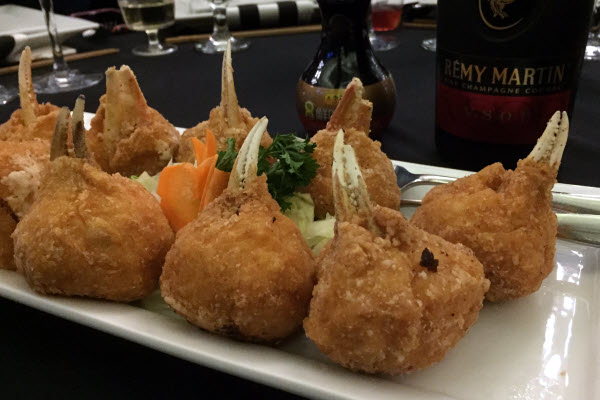 Stuffed Deep Fried Crab Claws thumbnail (click to enlarge)