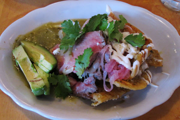 Smoked Sirloin & Chilaquiles thumbnail (click to enlarge)