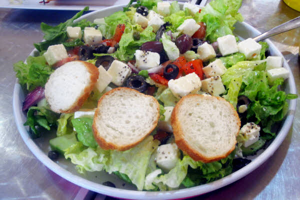 Greek Salad (whole) thumbnail (click to enlarge)