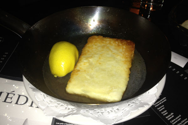 Saganaki thumbnail (click to enlarge)