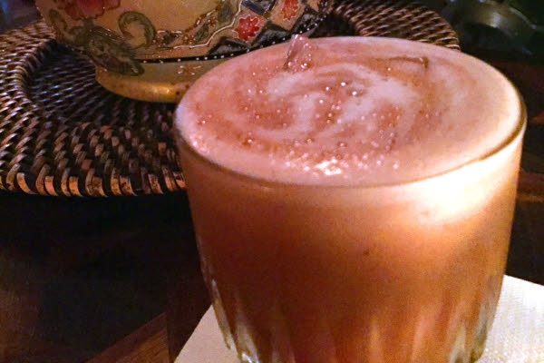 Ginseng Pisco Sour thumbnail (click to enlarge)
