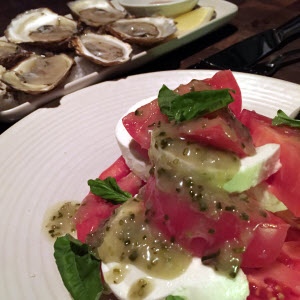 Tomato Salad & Oysters thumbnail (click to enlarge)
