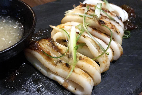 Grilled Squid thumbnail (click to enlarge)