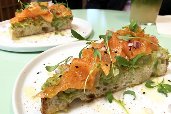 Avocado Toast + Smoked Salmon thumbnail (click to enlarge)
