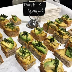 Launch Party Avocado Toast thumbnail (click to enlarge)