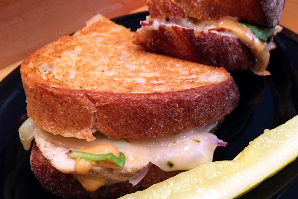 West Coast Melt Grilled Cheese thumbnail (click to enlarge)