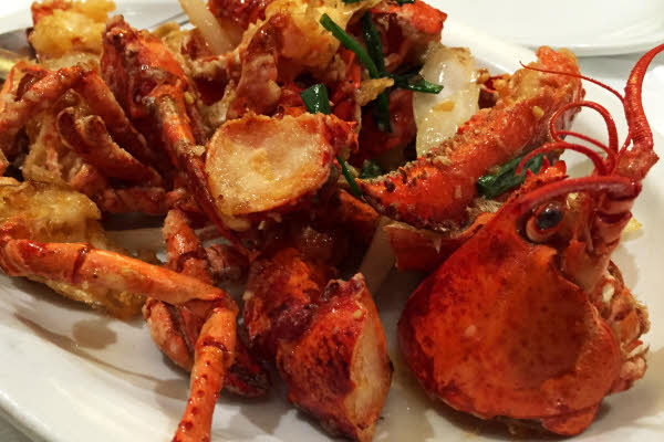 Lobster with Ginger & Scallions thumbnail (click to enlarge)