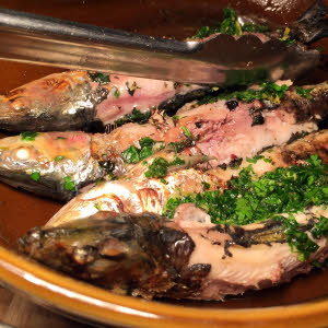 Grilled Sardines thumbnail (click to enlarge)