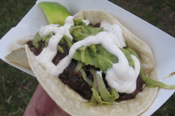 Boeuf Ancho Taco from Grumman 78 thumbnail (click to enlarge)