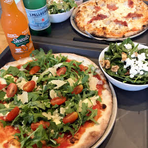 Pizzas & Salads thumbnail (click to enlarge)