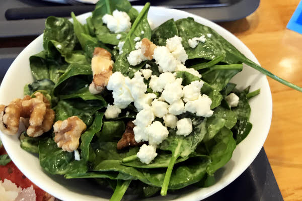 Spinach Salad thumbnail (click to enlarge)