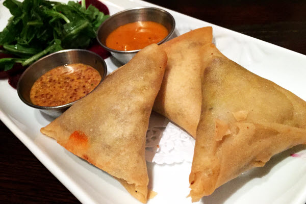 Venison Samosas thumbnail (click to enlarge)