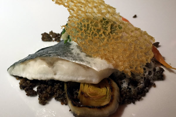 Steamed Seabass by Thierry Rouyé from La Table des Gourmets thumbnail (click to enlarge)