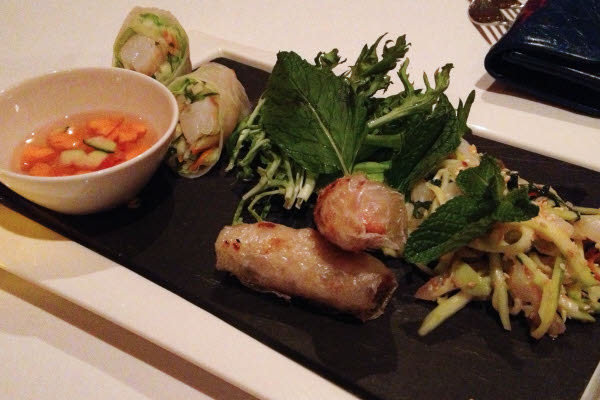 Vietnamese amuse-bouche thumbnail (click to enlarge)