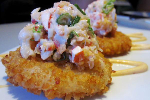 Spicy Lobster on Crispy Rice Cake thumbnail (click to enlarge)