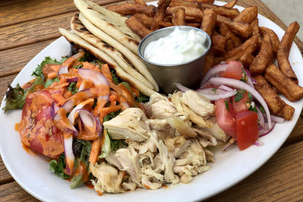Classic Chicken Gyro Plate thumbnail (click to enlarge)