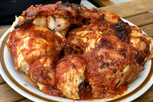 Piri-Piri Rotisserie Chicken thumbnail (click to enlarge)