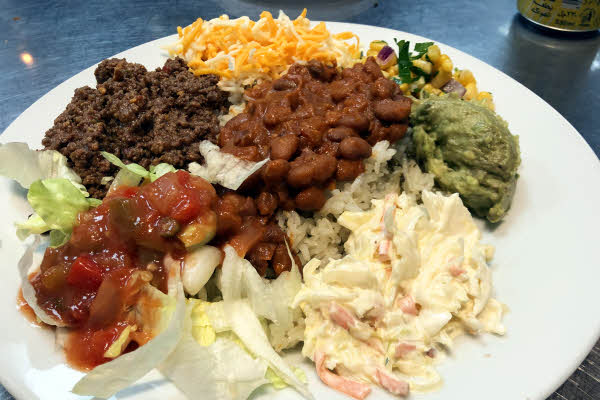 Ground Beef Burrito Bowl thumbnail (click to enlarge)