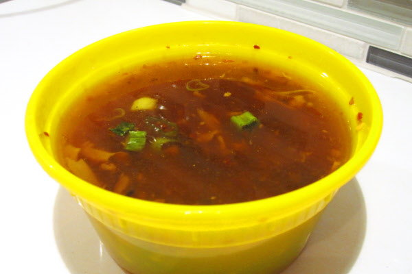 Hot & Sour soup with Shiitake Mushrooms thumbnail (click to enlarge)