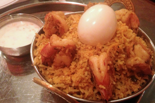 Shrimp Biryani thumbnail (click to enlarge)